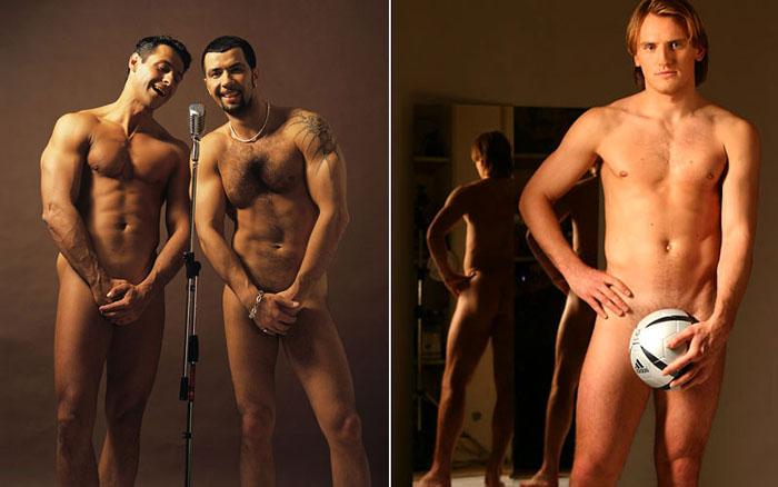 Фото голых российских мужчин